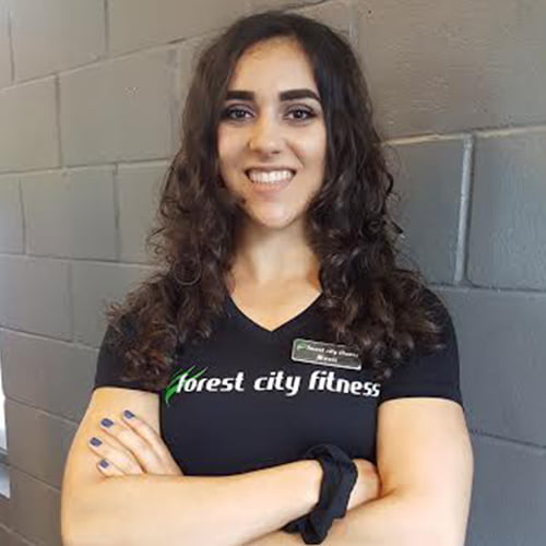 Alexis Rida Fitness Class Personal Trainer for Forest City Fitness