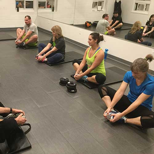 Core and Stretch London Ontario Personal Training Class