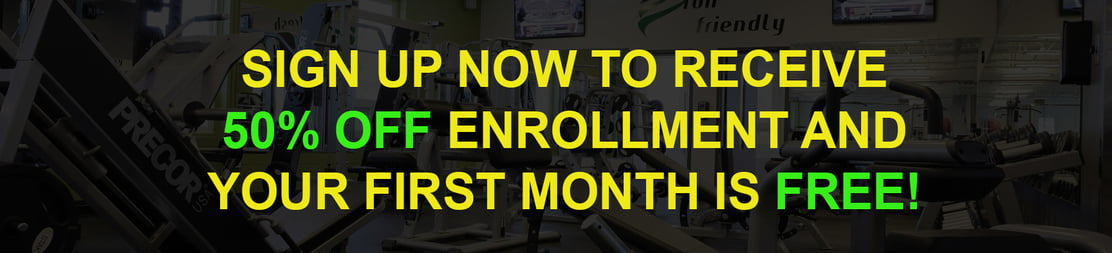 London Ontario Gym Enrollment Discount and Free 1 month