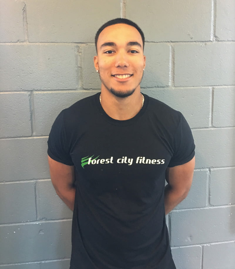 Marshall Turner - Fitness Class Personal Trainer for Forest City Fitness