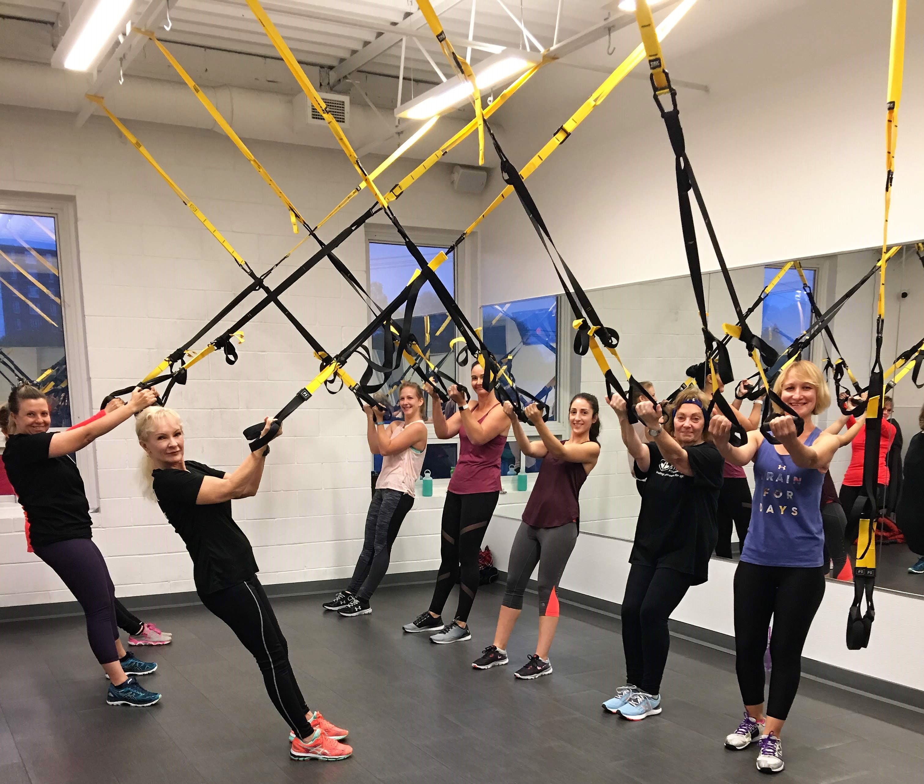 London Ontario Fitness Club TRX Suspension Class