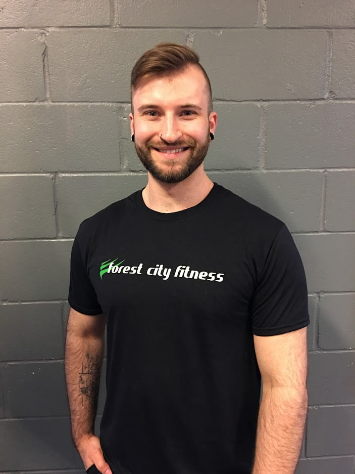 Dan Gebczynski London Ontario Personal Training Instructor for Forest City Fitness