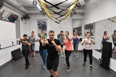 Cardio boxing Image London Ontario Gym