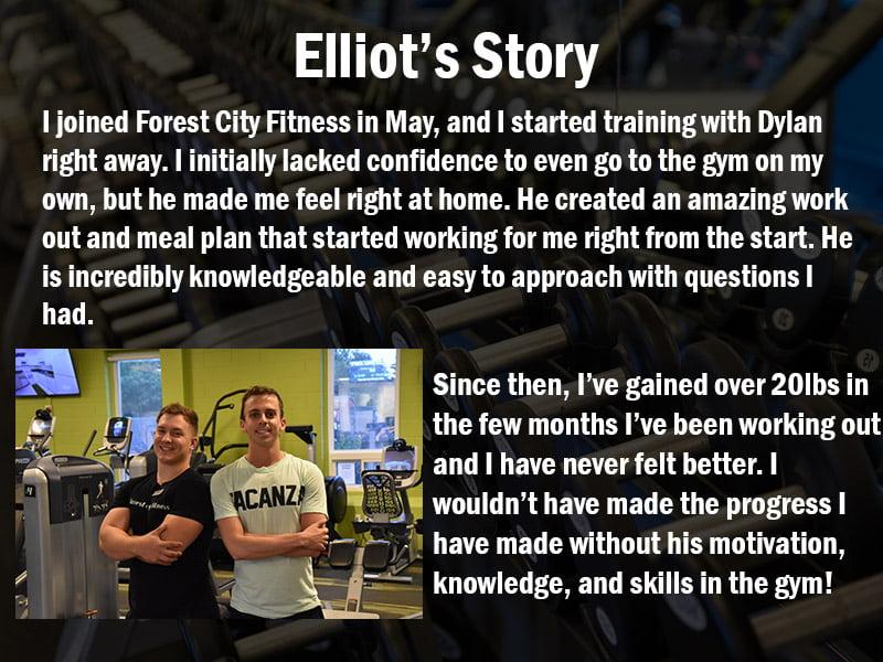 Elliot's Trainer Testimonial
