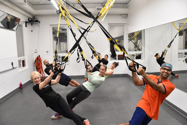 London Ontario Fitness Club TRX Suspension Class