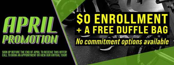 Forest City Fitness April 2021 Promotion Mobile