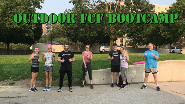 Fitness Club Boot Camp Class Image